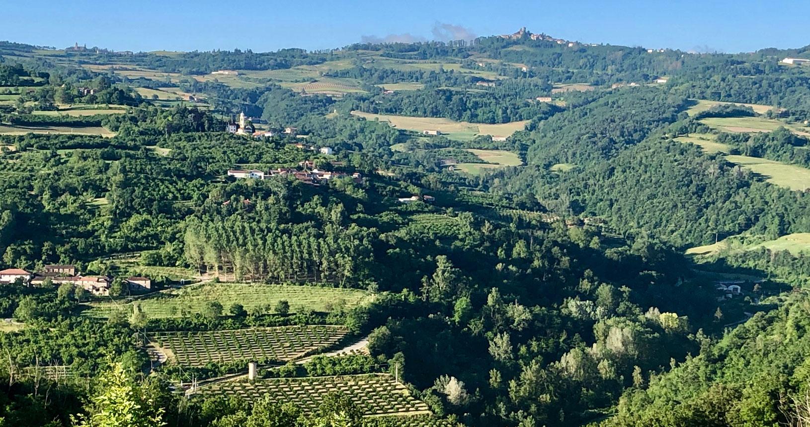Piemont Urlaub Landschaft erkunden