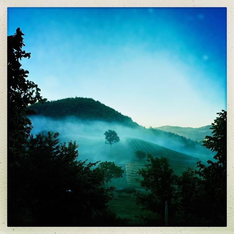piemont cascina wolken